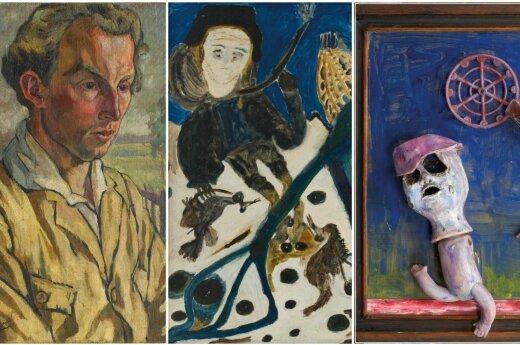Aukcione parduodami paveikslai