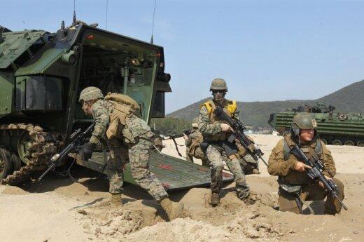 Bendros JAV ir Pietų Korėjos karinės pratybos