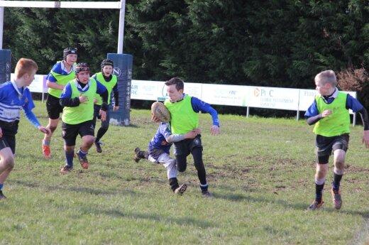 Klaipėdos Kovas junior club in Ireland. Photo Donatas Streckis