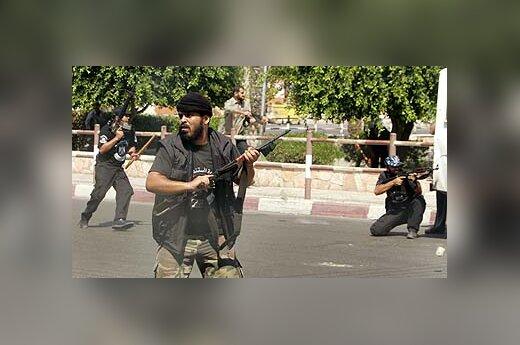 Palestiniečių kovotojai Gazoje