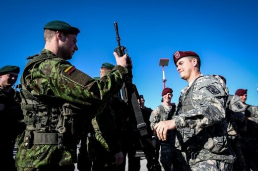 About 40 Lithuanian volunteer troops to attend exercise in US