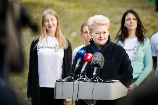 D. Grybauskaitė: valdančiųjų pažadai dėl atlyginimų kėlimo – neįgyvendinami