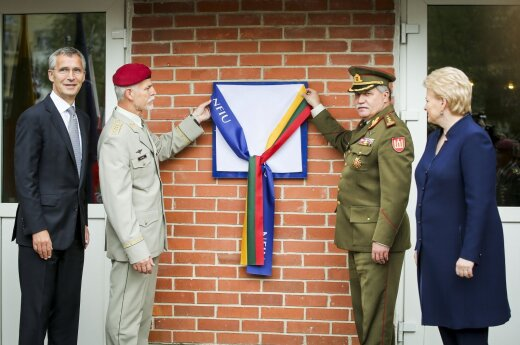 W Wilnie otworzono sztab NATO