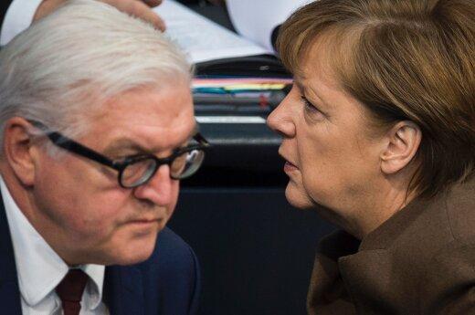 Frankas-Walteris Steinmeieris, Angela Merkel