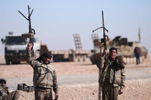 Стало известно о высадке сирийского десанта в тылу ИГ* на границе с Раккой