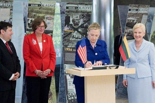 H.Clinton apsilankymas Seime