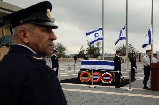 Izraeliečiai atsisveikina su A. Sharonu