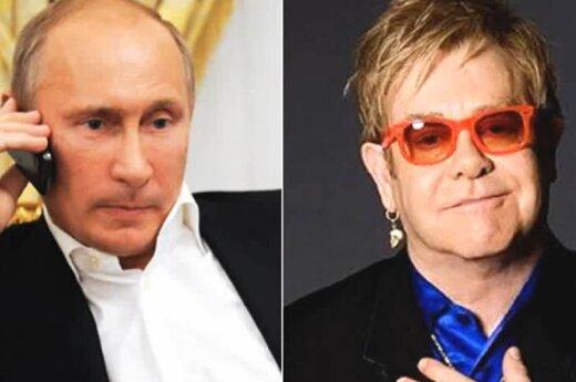 Vladimiras Putinas, Eltonas Johnas