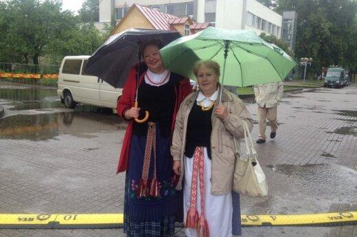 Открытие сезона в Друскининкай омрачил дождь