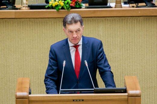 Буткявичюс: реформа социальных и трудовых отношений неизбежна