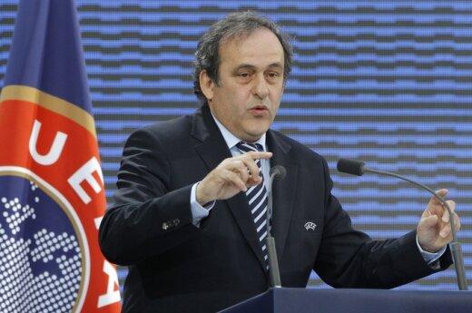 Michelis Platini - UEFA prezidentas