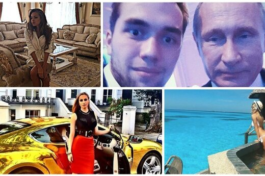 Socialiniame tinkle – pribloškiančios auksinio Rusijos jaunimėlio nuotraukos