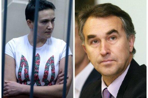 Petras Auštrevičius ir Nadia Savčenko