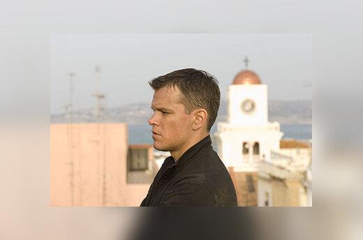 """Kadras iš filmo """"Bornas: galutinis tikslas"""", Mattas Damonas"""