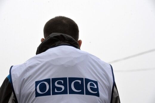 Minister Linkevičius: Only OSCE can monitor ceasefire in Ukraine