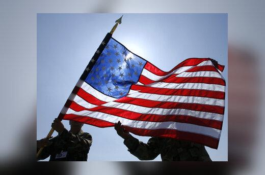 JAV, Amerika, kariai, vėliava