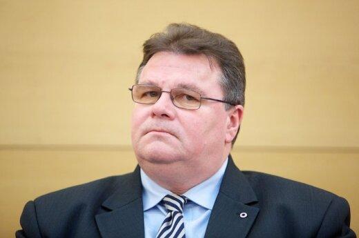 Глава МИД Литвы: нужно продолжать давление на Россию