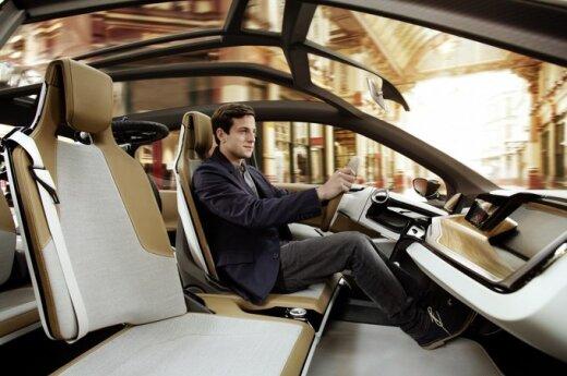 BMW i8 Concept, vairuotojas