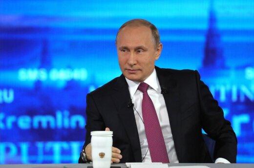 Путин объявил об установлении личных отношений с Трампом