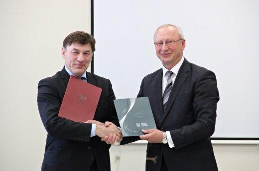ASU ir VDU pasirašė sutartį dėl universitetų integracijos
