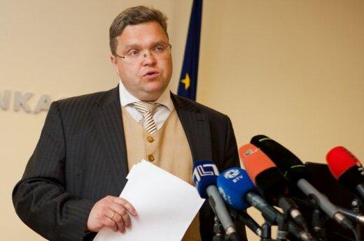 Василяускас: финансовая система Литвы стабильна