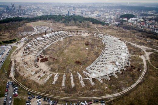 Vilniaus savivaldybėje – siūlymas leisti greta Nacionalinio stadiono statyti daugiabučius