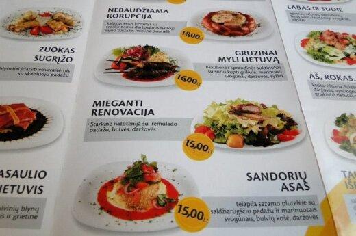 """Menu kawiarni Uspaskicha: """"Smaczne koperty"""", sałatka """"Abonenta"""""""