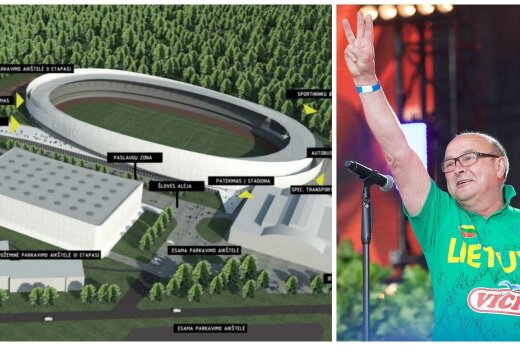 V. Matijošaičio pristatytas stadiono Kaune projektas konkuruos su kitų sporto bazių statybomis