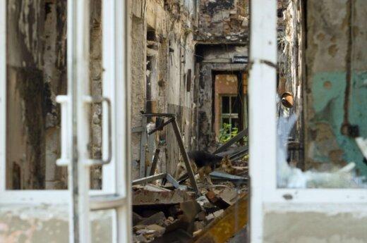 Обстрел Донецка: пострадала школа, 10 погибших