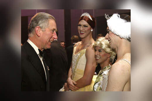 "Принц Чарльз и ""балерины"""