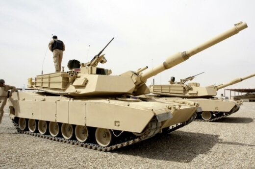 Five American Abrams tanks to be deployed in Lithuania