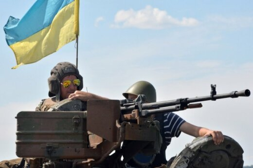 Лысенко: силы АТО освободили три населенных пункта, 13 бойцов погибли