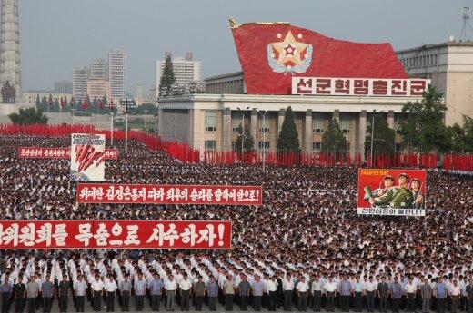 Kinija žada taikyti JT sankcijas Šiaurės Korėjai