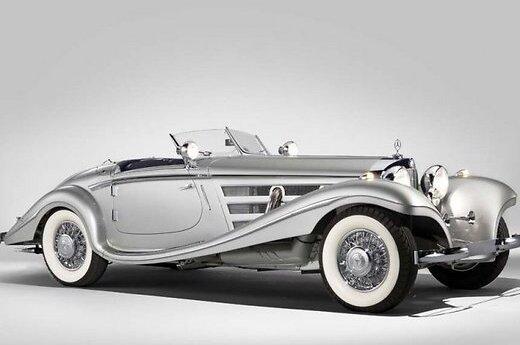 Mercedes-Benz 1936 года может стать самым дорогим в мире