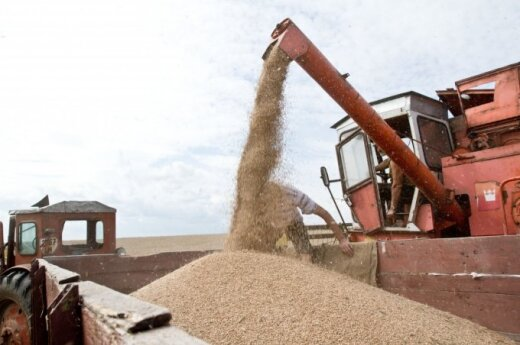 Record-breaking shipment of grain headed from Lithuania to Iran