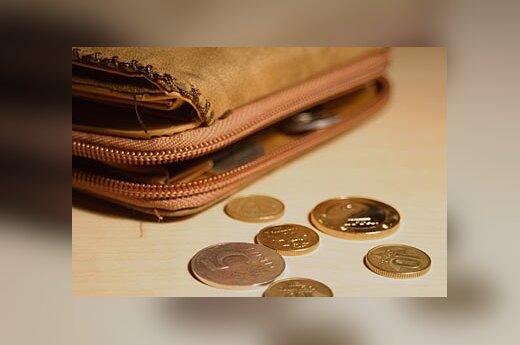 Litai, pinigai, centai, verslas, piniginė