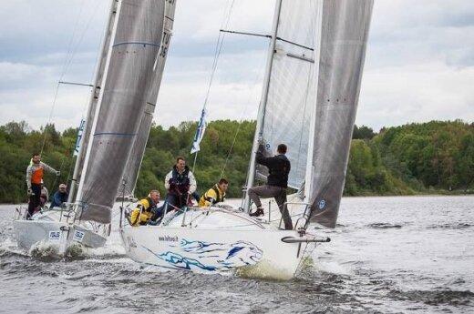 """""""RS Match race"""" jachtų lenktynės"""