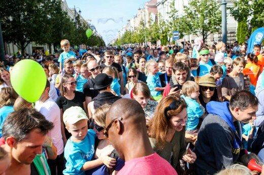 В Вильнюсе проходит марафон, ограничено движение