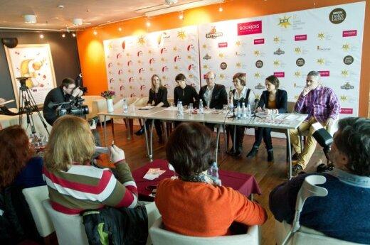 """""""Kino pavasario"""" spaudos konferencija"""