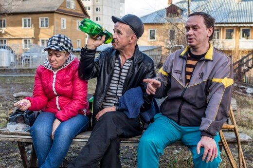 """<span style=""""color: #ff0000;"""">Gilyn į Rusiją:</span> Petrozavodsko kiemo vaikinai turi porą klausimų Lietuvai"""