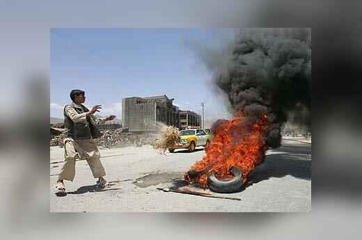 Riaušės Kabule