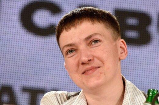 Савченко собирается посетить Литву: вы замечательные люди