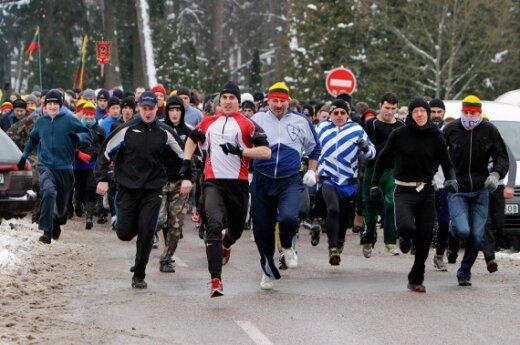 Vilniaus gatvėse – 2300 bėgikų