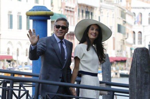 Слухи: Джордж Клуни женился ради политической карьеры