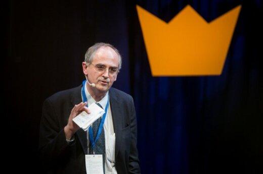 Edward Lucas at the Swedish Business Awards 2014