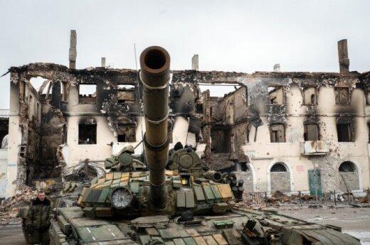 Pro-Russia separatists in east Ukraine
