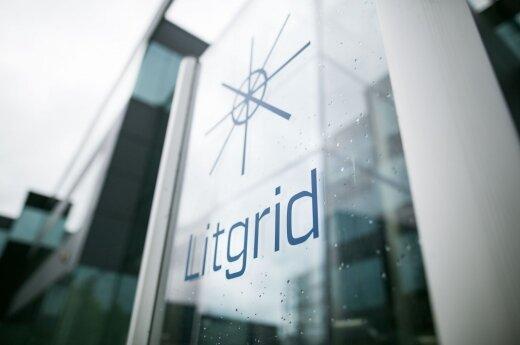Lithuania's electricity transmission company's logo - Litgrid