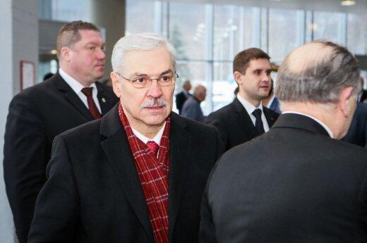Бальчитис о Грибаускайте: голосуют не рейтинги