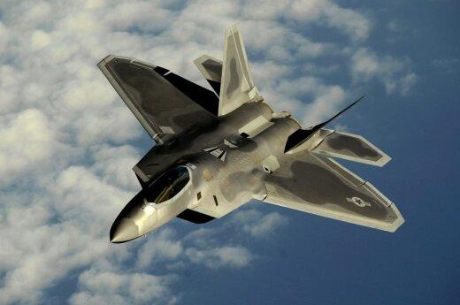 ВГерманию прибыли 4 новейших американских истребителя F-22 Raptor