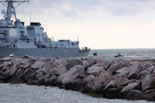 Large military exercise starting off Lithuania's Baltic coast